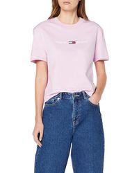 Tommy Hilfiger - Tjw Clean Linear Logo Tee T-shirt - Lyst