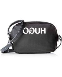 2ca894e9967 HUGO - 50402867, Shoulder Bag, Black, 6x13x19 Cm (b X H T) -