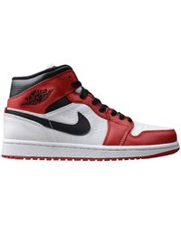 Nike Air Jordan 1 Mid - Rosso