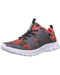 Print ScarletBaskets Femme Sneaker Rubber Basses Multicolore 0PNnkXwO8Z