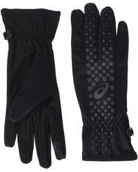 Asics Winter Performance Gloves - X Large - Black