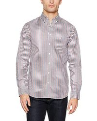 GANT - Multi Color Stripe Reg Ls Bd Casual Shirts - Lyst