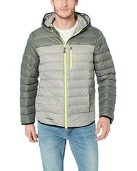 Skechers Packable Down Jacket With Hood - Multicolour