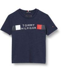Tommy Hilfiger - Global Stripe tee S/s Camisa - Lyst