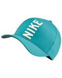 Nike New Aerobill Classic99 Majors Golf Cap Cabana/sail One Size Fits All - Blue