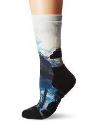 Merrell Printed Crew Sock Hiking - Blue