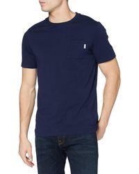 Scotch & Soda T-Shirt with Chest Pocket - Blu