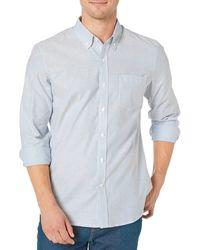 Goodthreads - Standard-fit Long-Sleeve Stretch Oxford Shirt - Lyst