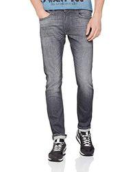 Lee Jeans Luke Jeans Tapered Uomo - Grigio