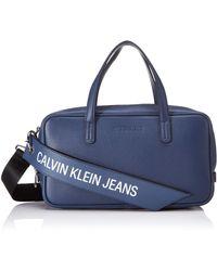 Calvin Klein - Ckj Banner Medium Duffle - Lyst