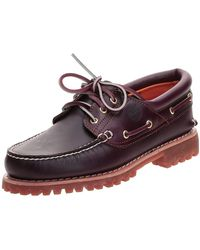 Timberland Authentics 3 Eye Classic Boat Shoes - Brown