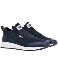 Tommy Hilfiger - Tommy Jeans Flexi Sock Runner Sneakers basses - Lyst
