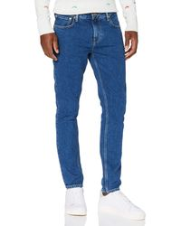 Scotch & Soda Skim Cropped-blauw Jeans - Blue