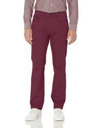 Goodthreads Straight-fit 5-pocket Chino - Purple