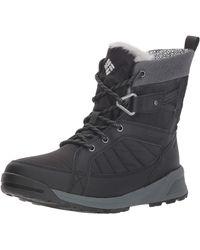 Columbia Meadows Omni-heat 3d Waterproof Hiking Boots - Black