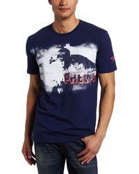 Speedo Team Collection Phelps Photo Short Sleeve T-shirt - Blue