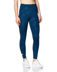 Nike Cj2149-432 Leggings - Blue