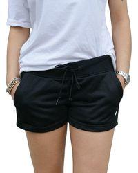 Converse Street Sport Pantaloncini Donna Neri 10005764A02 Nero XS