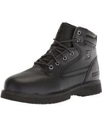 Fila Landing Steel Slip Resistant Industrial Work Boot Food Service Shoe - Nero