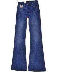 Lee Jeans - Jeans Breeze Skinny Flare Blau 28/33 - Lyst
