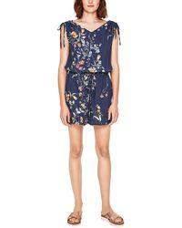 S.oliver Damen Jumpsuit - Blau