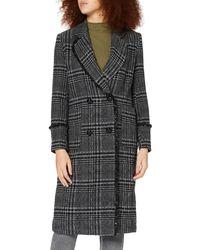 Replay W7634 .000.52322 Wool Blend Coat - Black