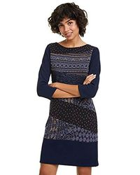 Desigual Dress Rina Kleid - Blau