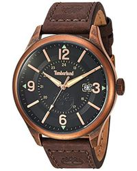 Timberland Tbl14645jsqr02 Blake Analog Display Analog Quartz Brown Watch - Multicolor