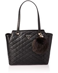 Guess - Astrid Tote Black - Lyst