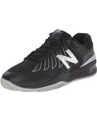 New Balance - Mc1006v1 Tennis Shoe Black/silver - Lyst