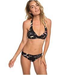 Roxy Halter Bikini Set for - Halter-Bikini-Set - Schwarz
