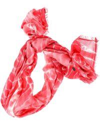 Esprit Batik Printed Scarf Blush - Rose