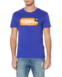 Superdry - Core Logo Tag Tee T-Shirt - Lyst