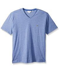 Lacoste - Fine Stripe Short Sleeve T-shirt, Th6810 - Lyst