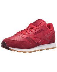 Reebok - Cl Leather Spp Fashion Sneaker - Lyst