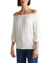 Esprit 020ee1k419 T-shirt - White