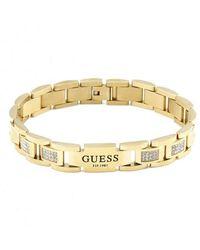 Guess UMB79005 Bracelet Hero doré pour homme - Métallisé