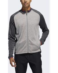 adidas Midweight Textured Jacket - Grey