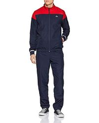 Lacoste Herren Sportswear-Set - Blau