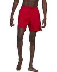 adidas Adicolor Fto Swimming Shorts - Red - W38