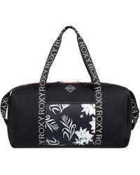 Roxy Neoprene Sports Duffle Bag - Neoprene Sports Duffle Bag - Black