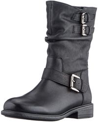 Geox D Catria G Mid Calf Boot - Black