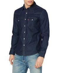 Levi's Barstow Western Slim Shirt - Blue