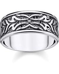 Thomas Sabo Ring 925 Sterling Silver - Metallic