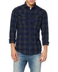 G-Star RAW 3301 Slim Shirt l/s Vaqueros - Azul