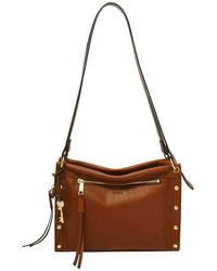 Fossil Allie Satchel Brandy - Marrone