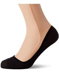 Calvin Klein Liner 2p Logo Hailey Chaussettes - Noir