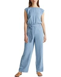Esprit 050ee1l301 Jumpsuit - Blue