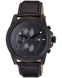 Tommy Hilfiger Chronograph Black Dial Men's Watch - TH1710295J - Schwarz