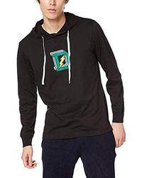 DIESEL UMLT-JIMMY, Sweat-shirt à capuche - Noir